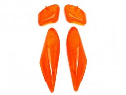 Cabochons clignotant Orange adaptable pour Booster Next Rocket < 1998