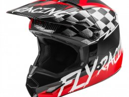 Casque cross enfant Fly Racing Kinetic Stretch rouge/noir/gris