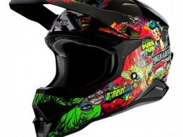 Casque cross ONeal 3SRS Crank 2.0 multicolore