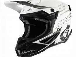 Casque cross ONeal 5SRS Trace Polyacrylite noir/blanc