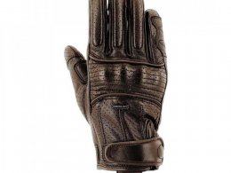 Gants Overlap Slick marron
