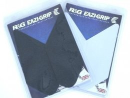 Kit grip de réservoir R&G Racing translucide Kawasaki ZX-6R 07-08