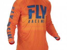 Maillot cross Fly Racing Lite Hydrogen orange/bleu