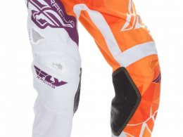 Pantalon cross Fly Racing Kinetic orange/violet