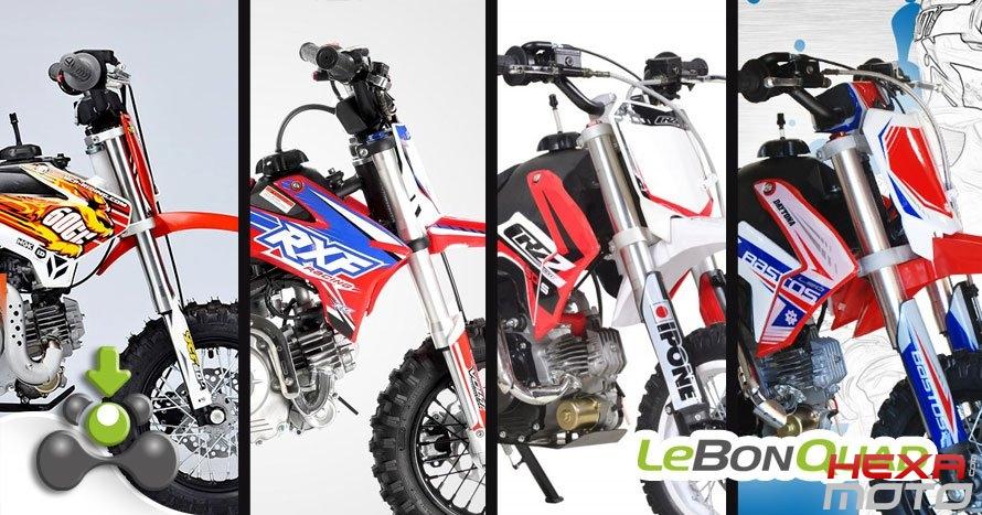Quelle motocross 50cc choisir pour mon enfant  - Hexa Moto e8b3b3e41048