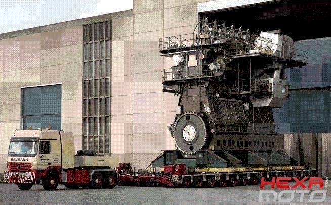 Le deux temps naissance apog e disparition hexa moto - Le plus gros porte conteneur de chez maersk ...