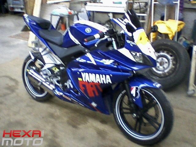 2008 yamaha yzf r 125 de max hm xpower hexa moto. Black Bedroom Furniture Sets. Home Design Ideas