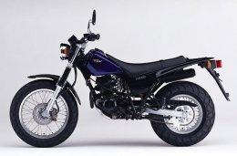 Coloris du modèle Yamaha TW 125