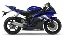 Coloris du modèle Yamaha YZF-R6