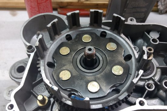 Démontage moteur euro 3 . Partie 1