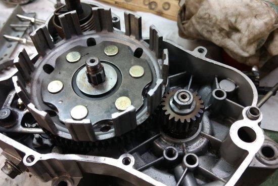 Démontage moteur euro 3 . Partie 2