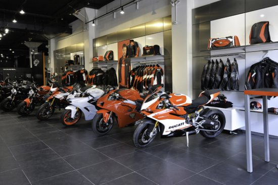 Crédit photo : Ducati Store à New Yorl