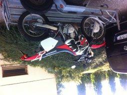 2000 Honda CRM 125 de baban