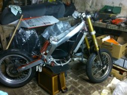 2004 MBK X-Limit Supermotard de Gashmir
