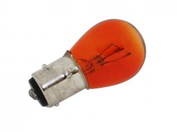 Ampoule BAY15D S25 stop / feu 12V 21 / 5W Orange