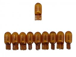 Ampoules Osram W2,1x9,5D 12V 5W Wedge orange (x10)