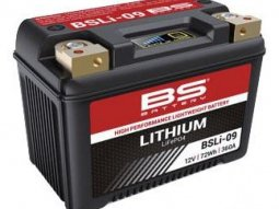Batterie BS Battery BSLI-09 12V 6Ah Lithium