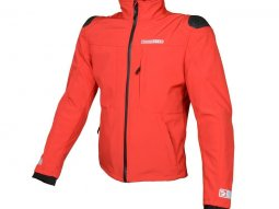 Blouson Booster Basano softshell rouge