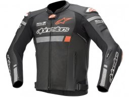 Blouson cuir Alpinestars Missile Ignition Airflow noir (Compatible Tec
