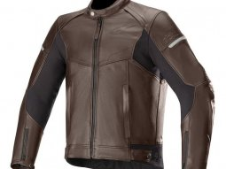 Blouson cuir Alpinestars SP-55 tobacco brown