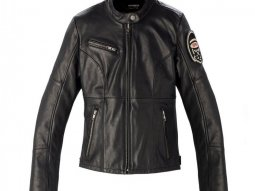 Blouson cuir femme Spidi ORIGINALS LEATHER LADY noir