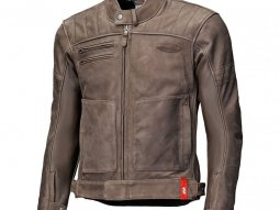 Blouson cuir Held Hot Rock marron (standard)