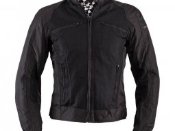 Blouson textile Helstons District noir
