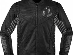 Blouson textile Icon Wireform noir