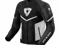 Blouson textile Revit Arc Air noir / blanc