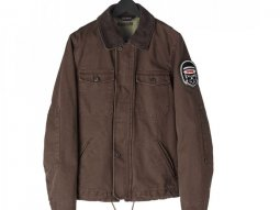 Blouson textile Spidi ORIGINALS TEX marron