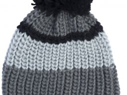 Bonnet Pull-in Ice Grey noir / gris