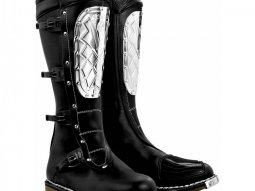 Bottes cross Alpinestars Supervictory Steel Plate noir
