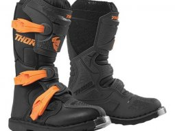 Bottes cross enfant Blitz XP charcoal / orange