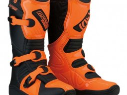 Bottes cross enfant Moose Racing M 1.3 MX noir / orange