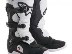 Bottes cross junior Alpinestars Tech 3S noir / blanc