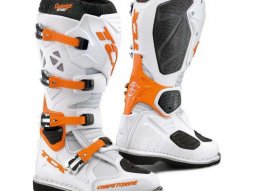 Bottes cross TCX Comp Evo blanc / orange