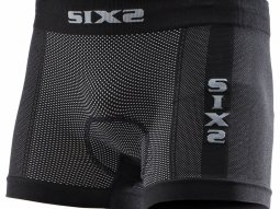 Boxer Sixs Box2 carbon black avec coussinet