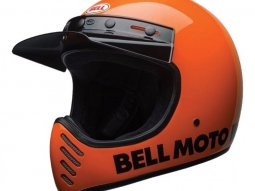Casque Bell Moto 3 Classic orange fluo