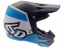 Casque cross 6D ATR-1 Flight noir / bleu