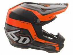Casque cross 6D ATR-1 Fuse orange / noir