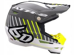 Casque cross 6D ATR-2 Motion jaune / gris