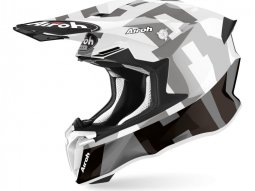 Casque cross Airoh Twist 2.0 Frame gris brillant