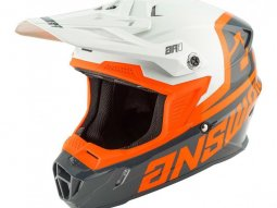 Casque cross Answer AR1 Voyd charcoal / gris / orange