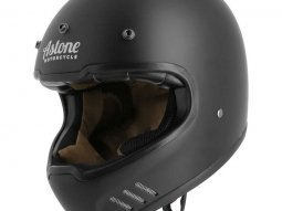 Casque cross Astone SUPER RETRO mat noir