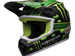 Casque cross Bell MX-9 Mips McGrath Showtime Replica noir / vert