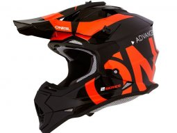 Casque cross enfant ONeal 2SRS Slick noir / orange