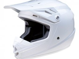 Casque cross enfant Z1R Rise blanc brillant