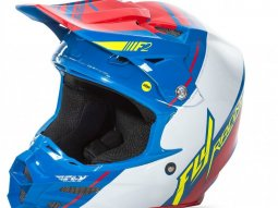 Casque cross Fly Racing F2 Carbon MIPS Replica Trey Canard