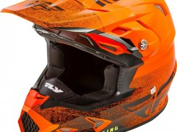 Casque cross Fly Racing Toxin Mips Embargo orange / noir