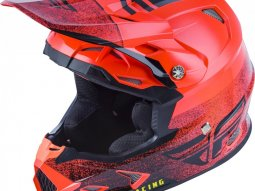 Casque cross Fly Racing Toxin Mips Embargo rouge / noir